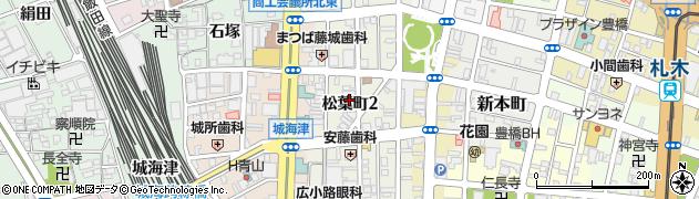 プーラン周辺の地図