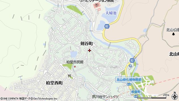 〒662-0099 兵庫県西宮市剣谷町の地図