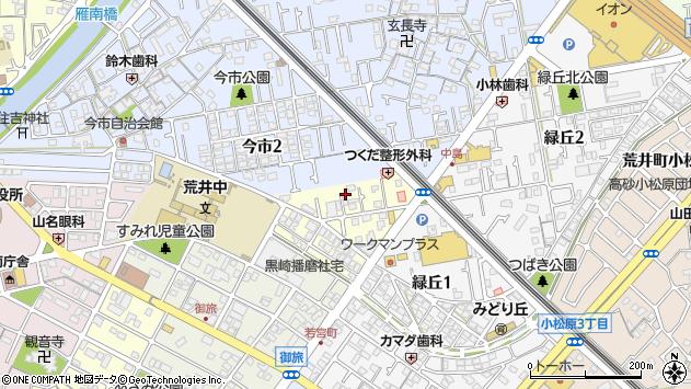 〒676-0002 兵庫県高砂市末広町の地図