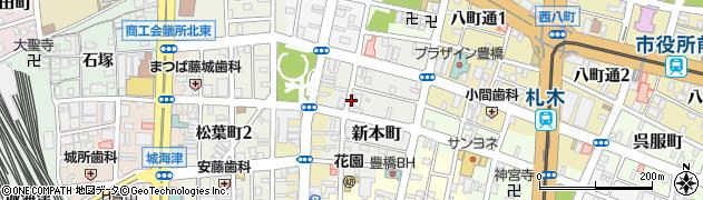 ジャスミン周辺の地図