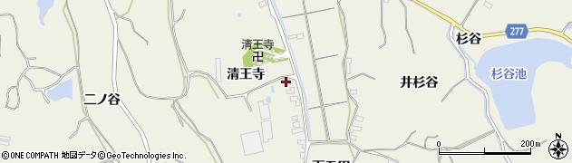 愛知県美浜町(知多郡)野間(清王寺)周辺の地図