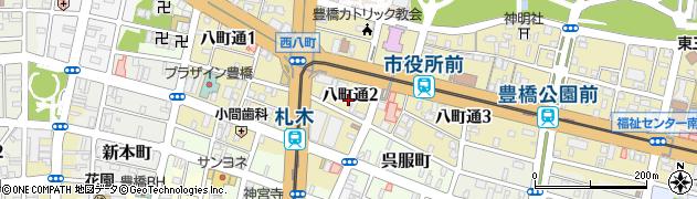 松米周辺の地図