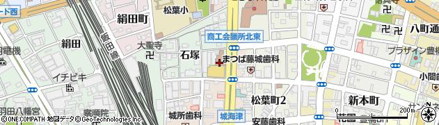 フレスノレストラン周辺の地図