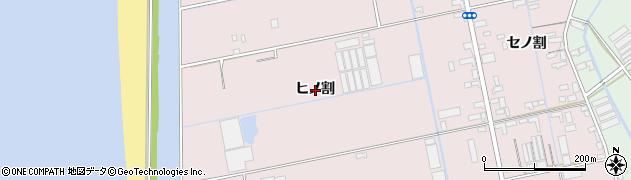 愛知県豊橋市神野新田町(ヒノ割)周辺の地図