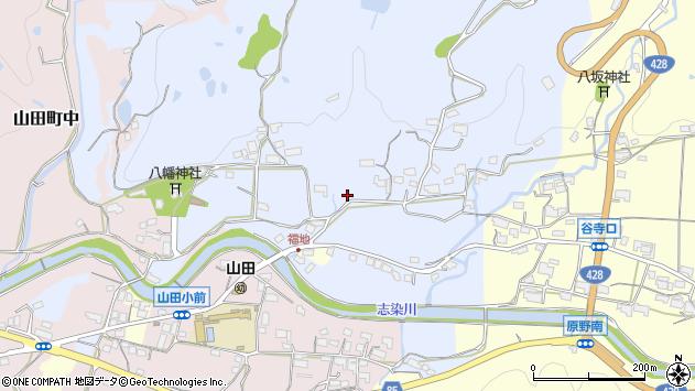 〒651-1254 兵庫県神戸市北区山田町福地の地図