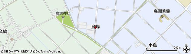 愛知県豊橋市高洲町(烏塚)周辺の地図