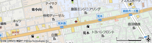 とりあえず吾平 豊橋花田店周辺の地図