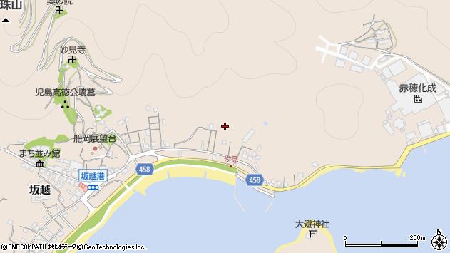 〒678-0172 兵庫県赤穂市坂越の地図