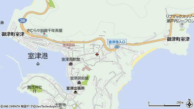 〒671-1332 兵庫県たつの市御津町室津の地図