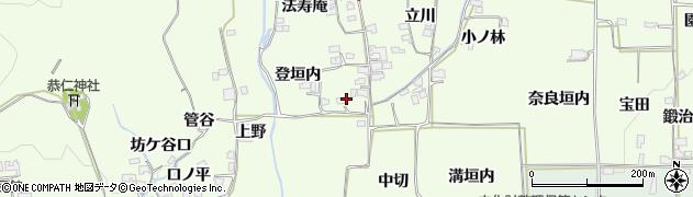 京都府木津川市加茂町例幣(登垣内)周辺の地図