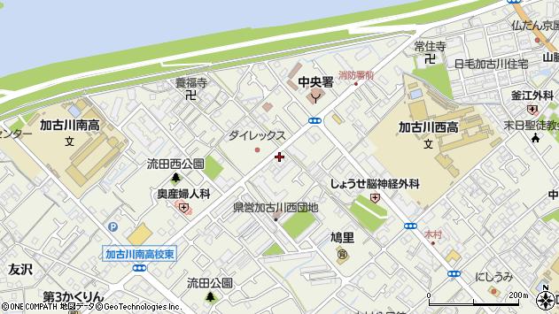 〒675-0036 兵庫県加古川市加古川町西河原の地図