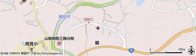 島根県浜田市三隅町岡見(郷)周辺の地図