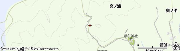 京都府木津川市加茂町西宮ノ浦周辺の地図