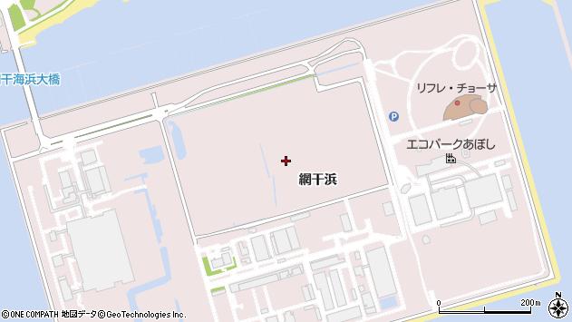 〒671-1236 兵庫県姫路市網干区網干浜の地図