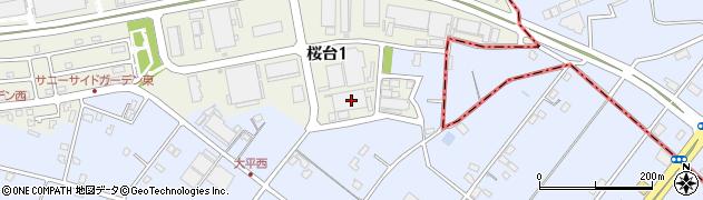 知久屋 本社工場周辺の地図