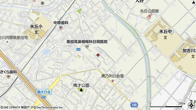 〒675-0062 兵庫県加古川市加古川町美乃利の地図