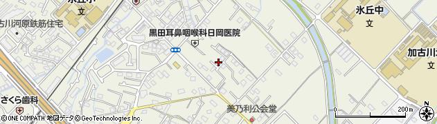 兵庫県加古川市加古川町(美乃利)周辺の地図