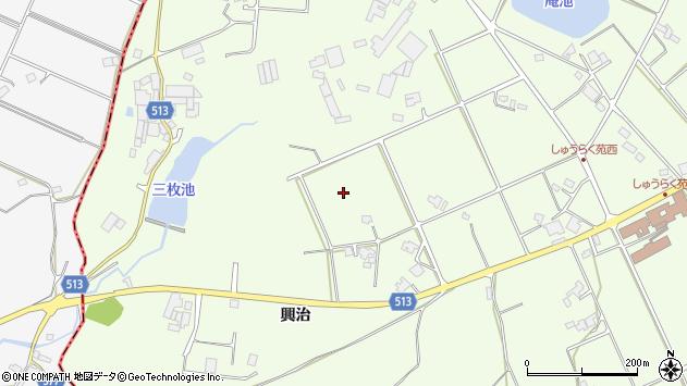 〒673-0442 兵庫県三木市別所町興治の地図