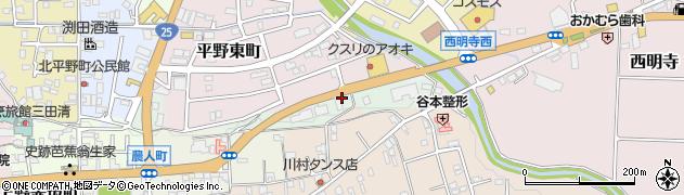三重県伊賀市平野蔵垣内周辺の地図