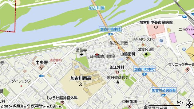 〒675-0037 兵庫県加古川市加古川町本町の地図