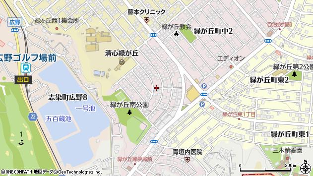 〒673-0532 兵庫県三木市緑が丘町中の地図