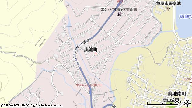 〒659-0003 兵庫県芦屋市奥池町の地図