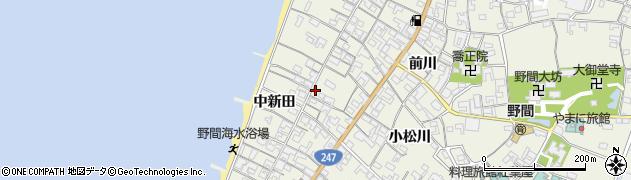 愛知県美浜町(知多郡)野間(中新田)周辺の地図