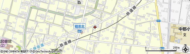 鰻丸周辺の地図