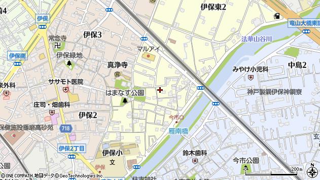〒676-0071 兵庫県高砂市伊保東の地図