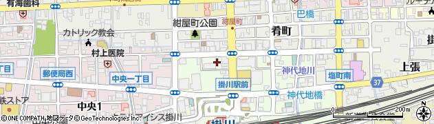 クラブプラチナ周辺の地図