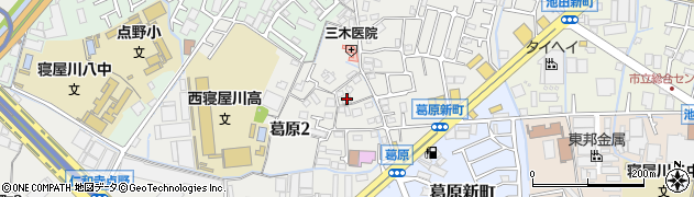 即円寺周辺の地図