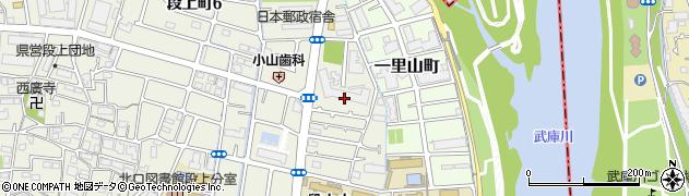 日興甲東園スカイマンション周辺の地図