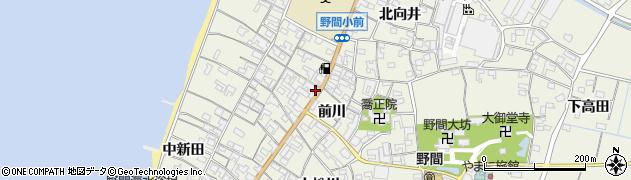 愛知県知多郡美浜町野間前川11周辺の地図