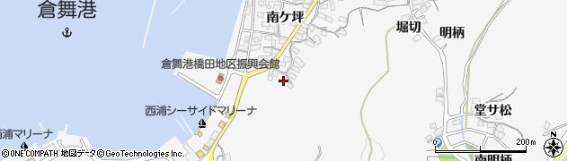 愛知県蒲郡市西浦町(折敷田)周辺の地図