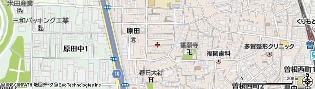 大阪府豊中市原田元町周辺の地図