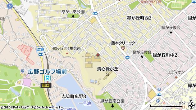 〒673-0531 兵庫県三木市緑が丘町西の地図