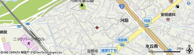 兵庫県加古川市加古川町(河原)周辺の地図