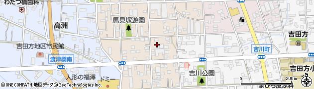 愛知県豊橋市馬見塚町周辺の地図