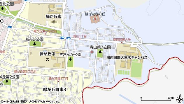 〒673-0521 兵庫県三木市志染町青山の地図