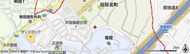 大阪府寝屋川市寝屋北町周辺の地図