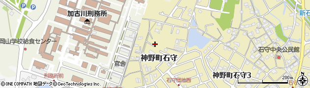 兵庫県加古川市神野町石守周辺の地図