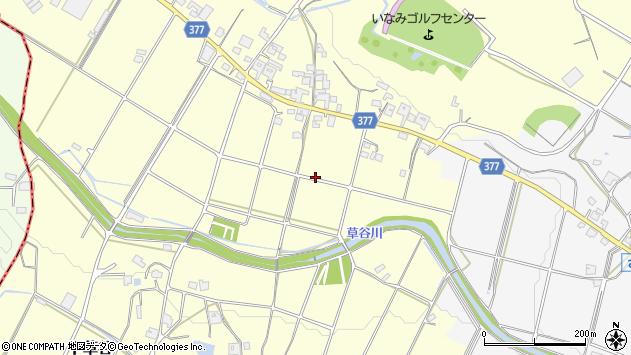 〒675-1101 兵庫県加古郡稲美町下草谷の地図