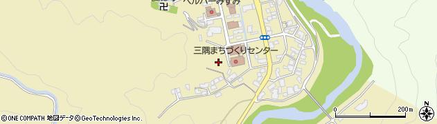 島根県浜田市三隅町向野田周辺の地図