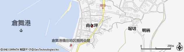 愛知県蒲郡市西浦町(南ケ坪)周辺の地図
