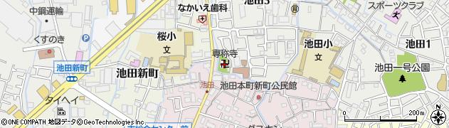 専稱寺周辺の地図