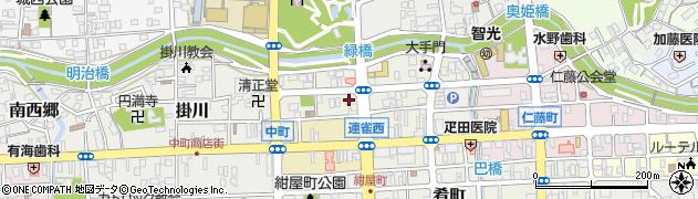 うお鶏 掛川店周辺の地図