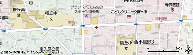 ほっともっと豊橋 西小鷹野店周辺の地図