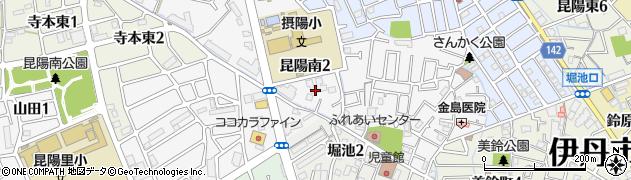カラオケスタジアムNO 1 伊丹店周辺の地図