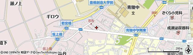 愛知県豊橋市牛川町(郷中)周辺の地図