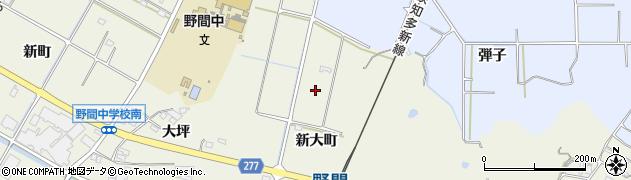 愛知県美浜町(知多郡)野間(新大町)周辺の地図